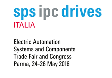 May, 24-26 2016, SPS IPC DRIVES ITALY in Parma