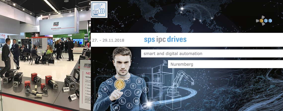 SPS IPC DRIVES 2018 SMART AND DIGITAL AUTOMATION